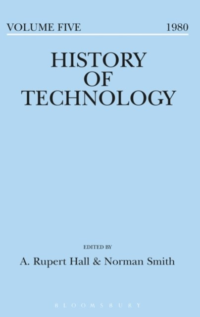 History of Technology Volume 5