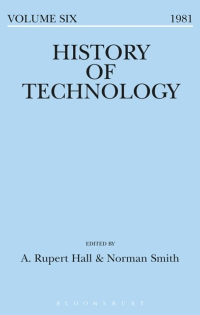 (ebook) History of Technology Volume 6