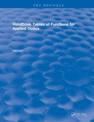 Handbook Tables of Functions for Applied Optics