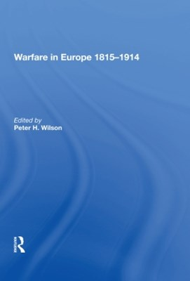 Warfare in Europe 1815�914