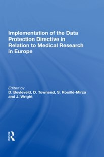 (ebook) Implementation of the Data Protection Directive in Relation to Medical Research in Europe - Reference Law