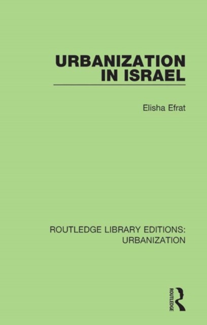 Urbanization in Israel