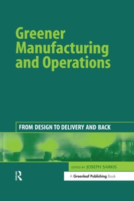 (ebook) Greener Manufacturing and Operations