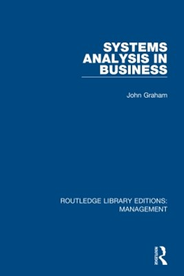 (ebook) Systems Analysis in Business