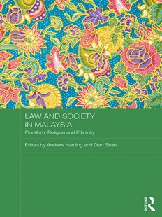 (ebook) Law and Society in Malaysia - Reference Law