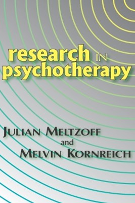 (ebook) Research in Psychotherapy