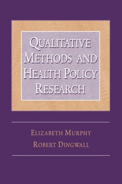 (ebook) Qualitative Methods and Health Policy Research