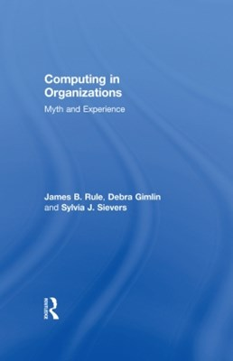 Computing in Organizations
