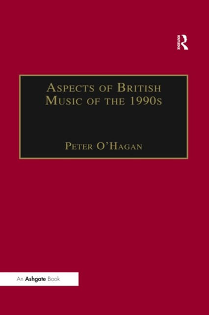(ebook) Aspects of British Music of the 1990s