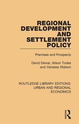 (ebook) Regional Development and Settlement Policy