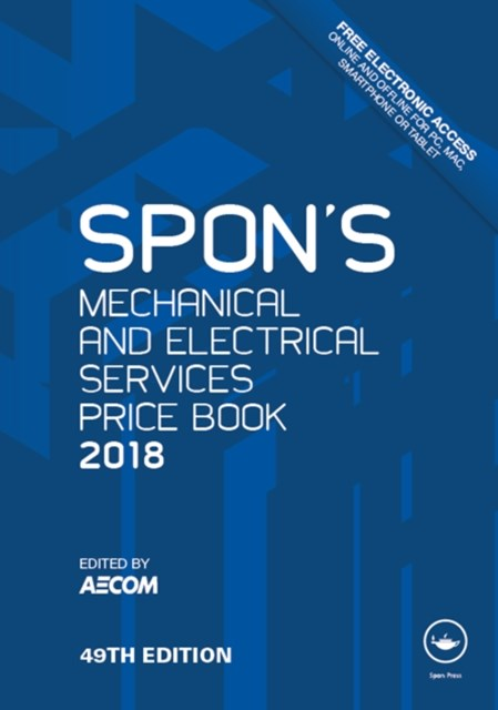 (ebook) Spon's Mechanical and Electrical Services Price Book 2018