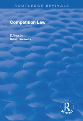 (ebook) Competition Law