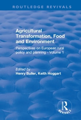 Agricultural Transformation, Food and Environment