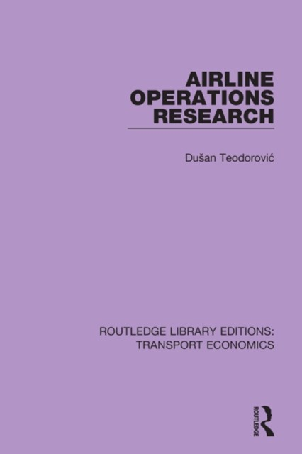 Airline Operations Research