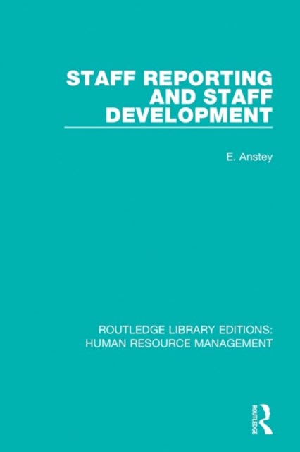 Staff Reporting and Staff Development