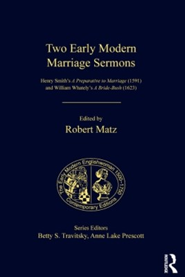 Two Early Modern Marriage Sermons