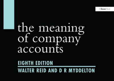 Meaning of Company Accounts