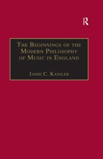 (ebook) Beginnings of the Modern Philosophy of Music in England - Entertainment Music General