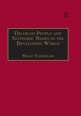(ebook) Disabled People and Economic Needs in the Developing World