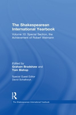 The Shakespearean International Yearbook
