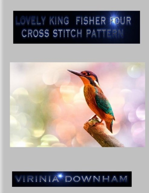 (ebook) Lovely King Fisher Four Cross Stitch Pattern