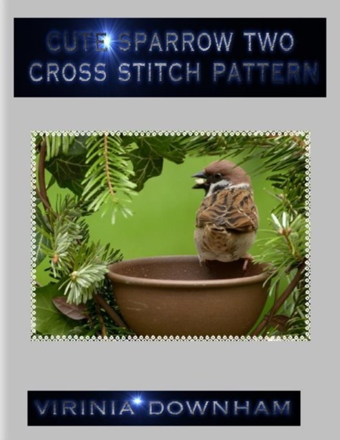 Cute Sparrow Two Cross Stitch Pattern