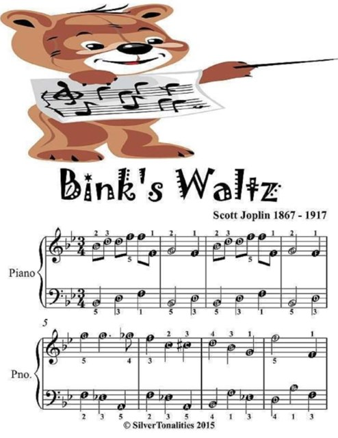 Bink's Waltz - Easiest Piano Sheet Music Junior Edition