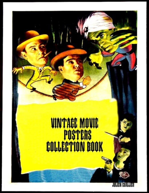 Vintage Movie Posters Collection Book