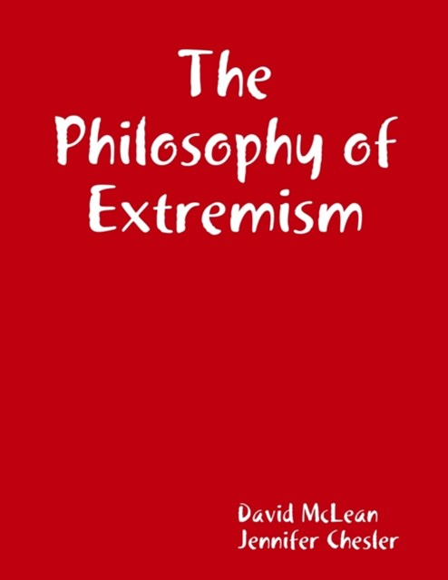 Philosophy of Extremism