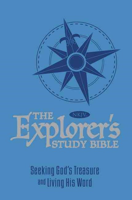 The Explorer's Study Bible - Blue: Seeking God's Treasure And Living HisWord