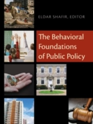 (ebook) Behavioral Foundations of Public Policy