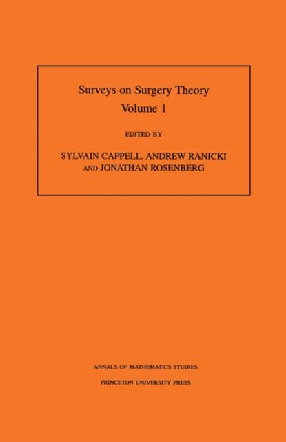 (ebook) Surveys on Surgery Theory (AM-145), Volume 1