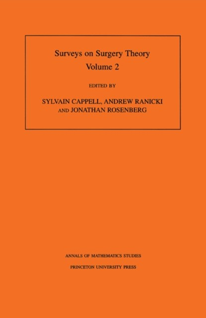 (ebook) Surveys on Surgery Theory (AM-149), Volume 2
