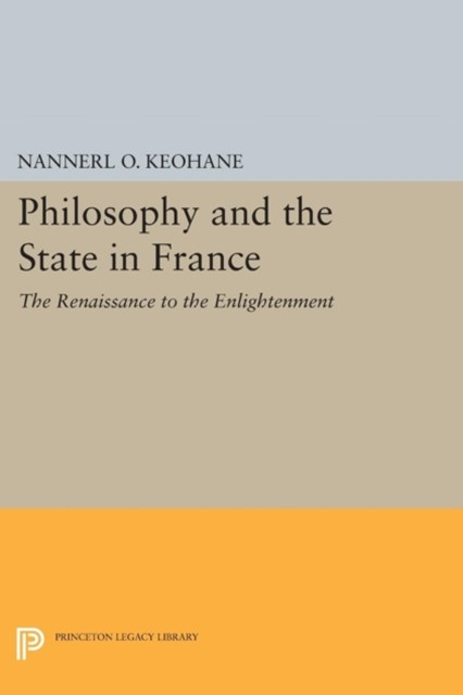 (ebook) Philosophy and the State in France