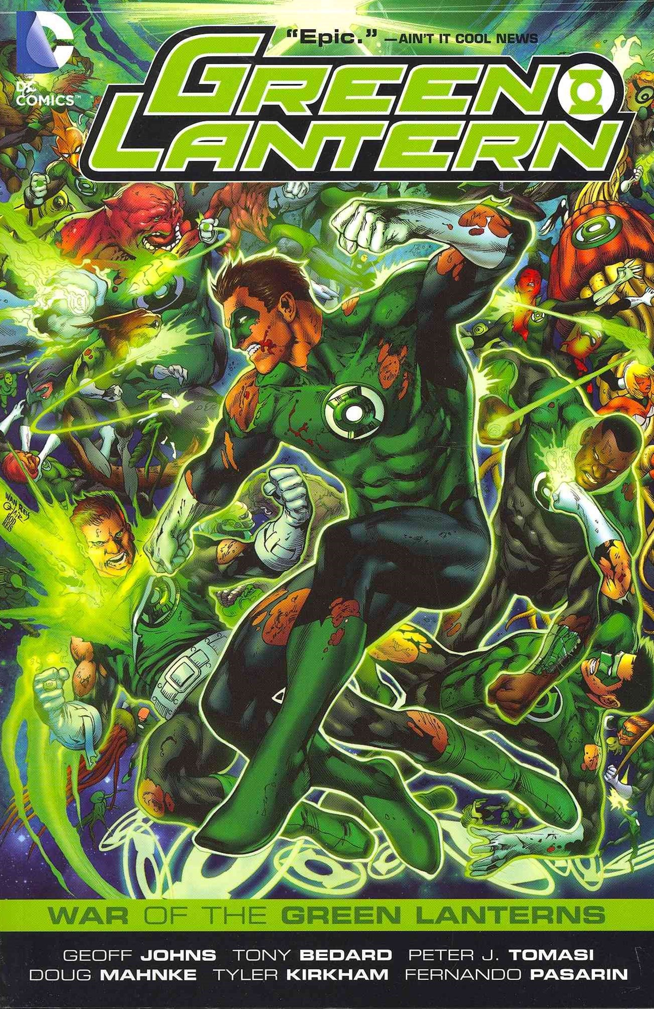 War of the Green Lanterns