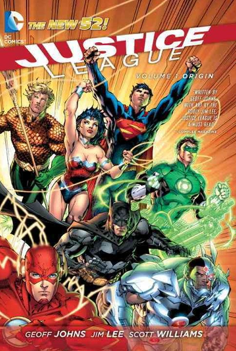 Justice League Vol. 1 Origin (The New 52)