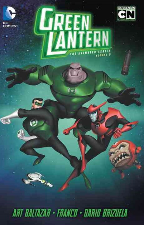 Green Lantern The Animated Series Vol. 2