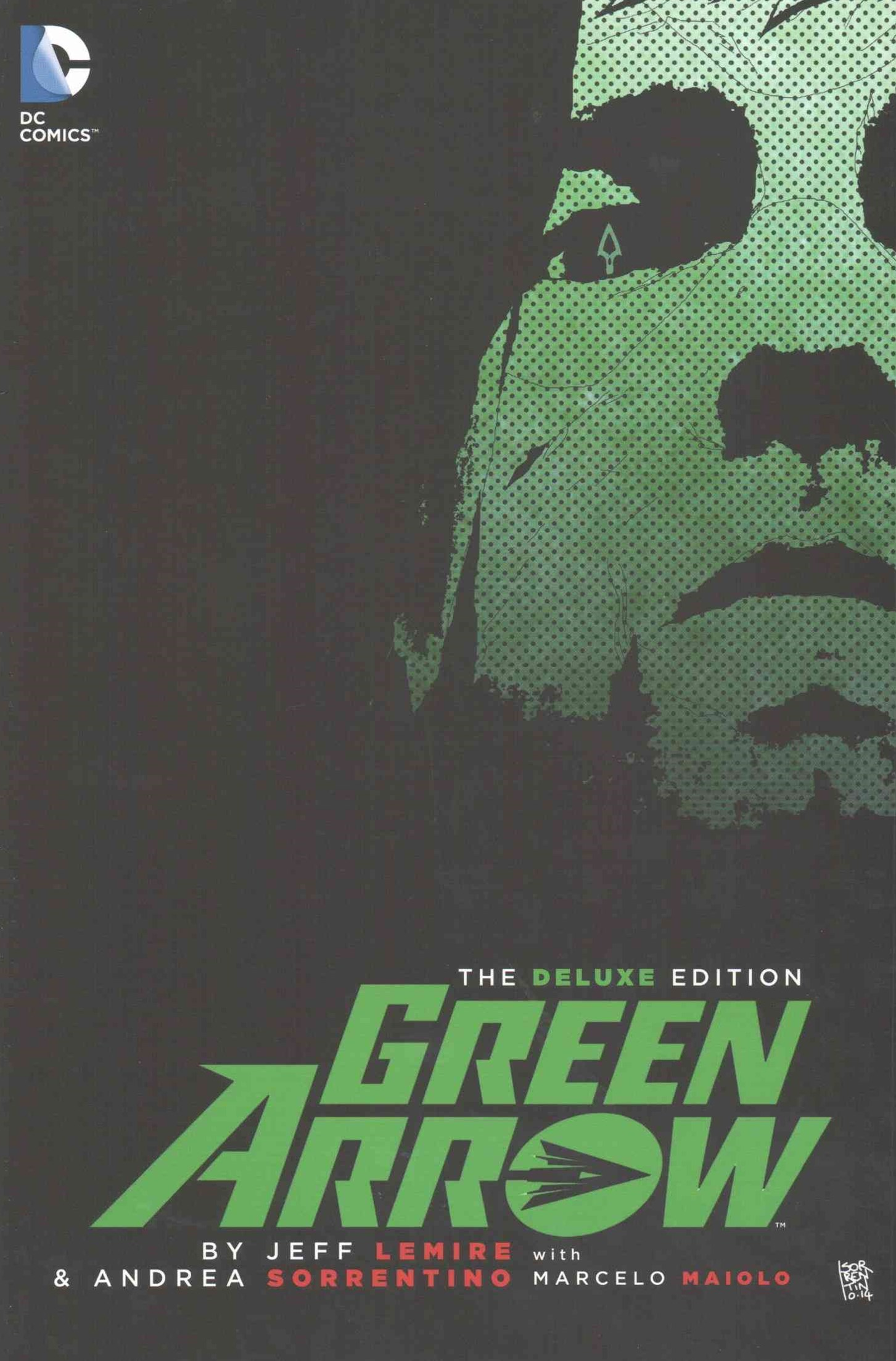 Green Arrow By Jeff Lemire Deluxe Edition (The New 52)