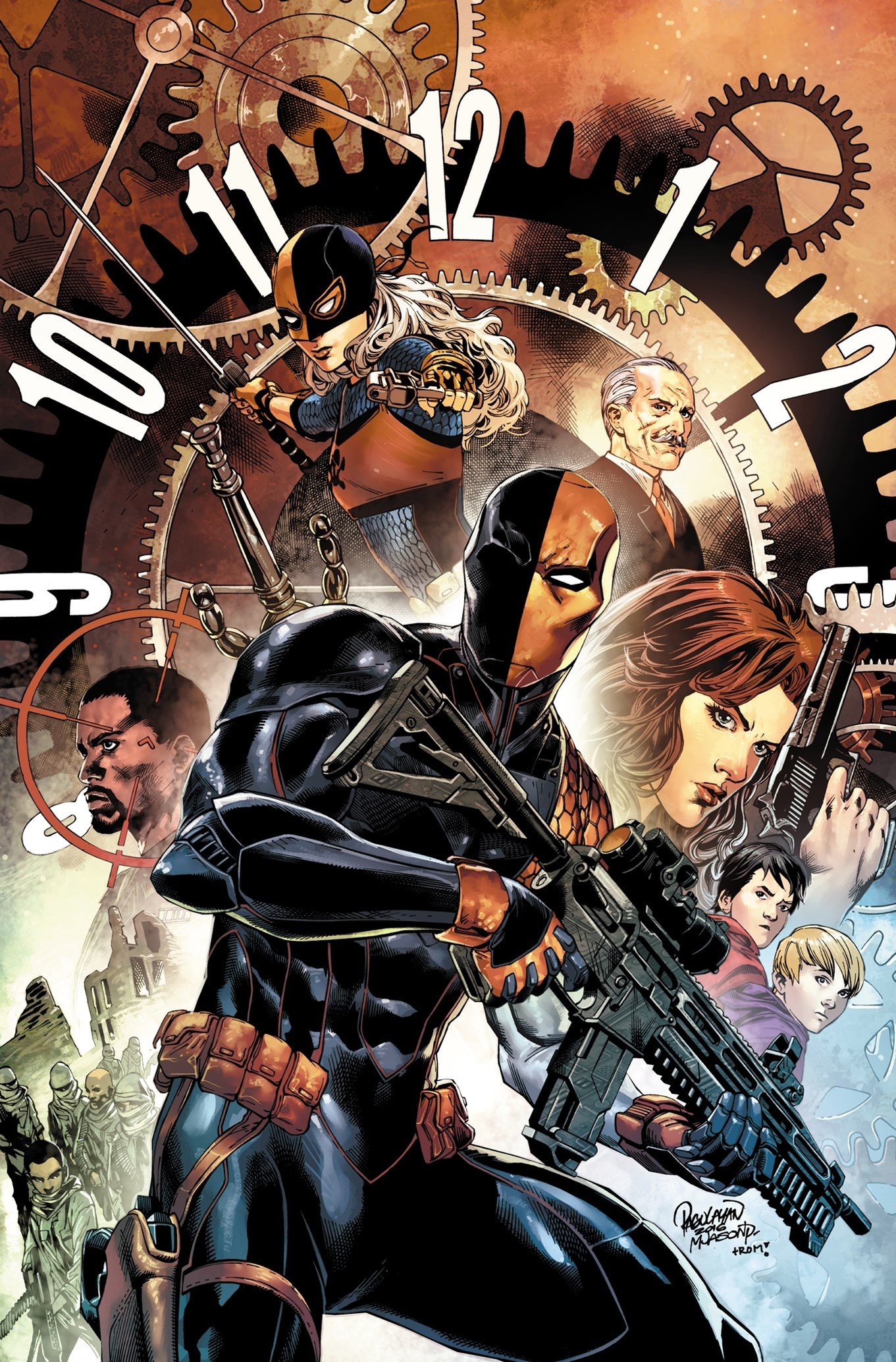 Deathstroke Vol. 1 The Professional (Rebirth)