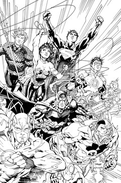 Justice League An Adult Coloring Book
