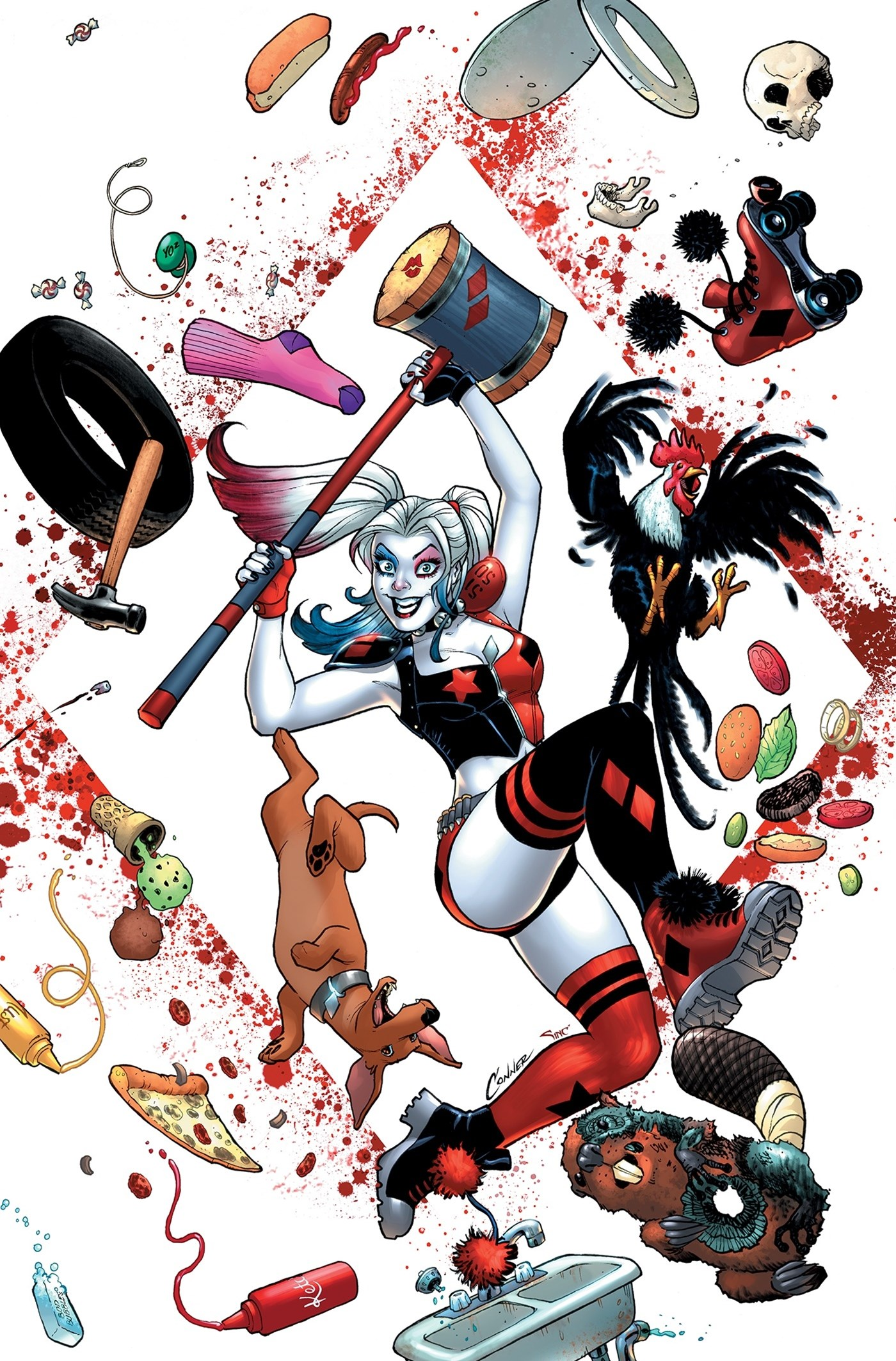 Harley Quinn's Cover Gallery