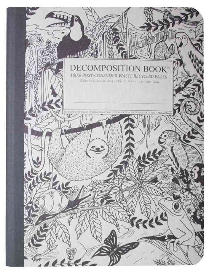 Decomposition - Notebook - Ruled - Large - Rainforest