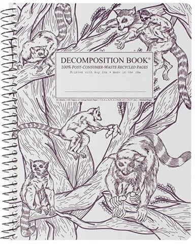 Leaping Lemurs Decompositon Book - Blank