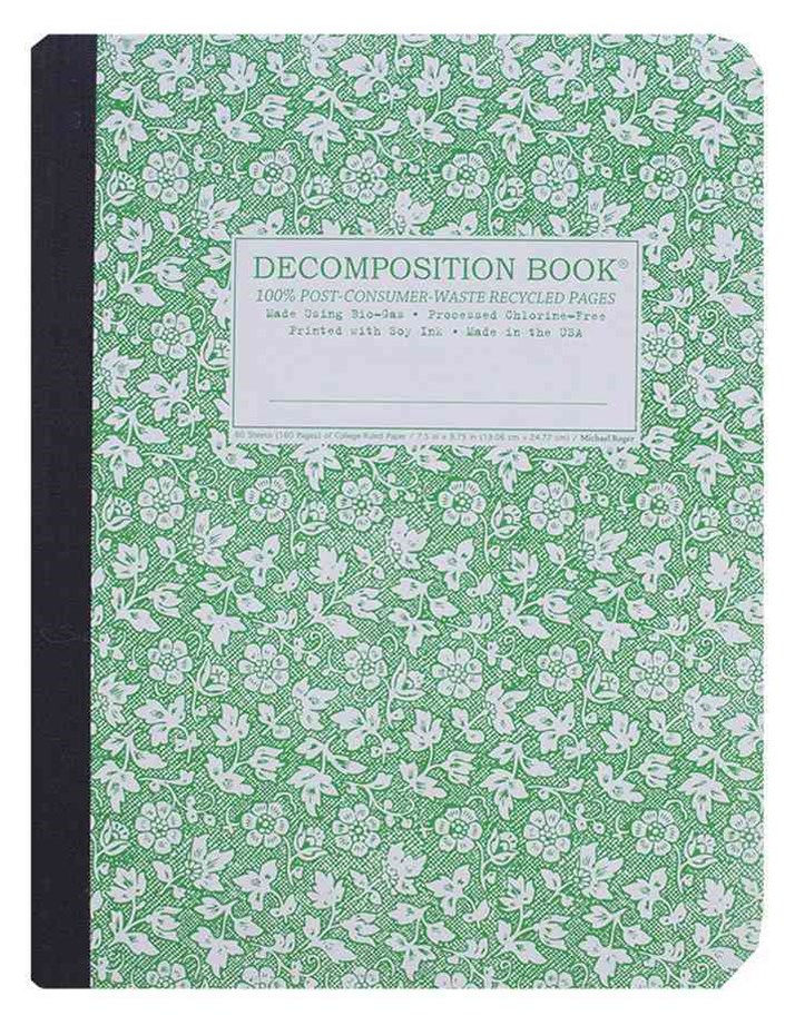 Decomposition - Notebook - Ruled - Large - Parsley