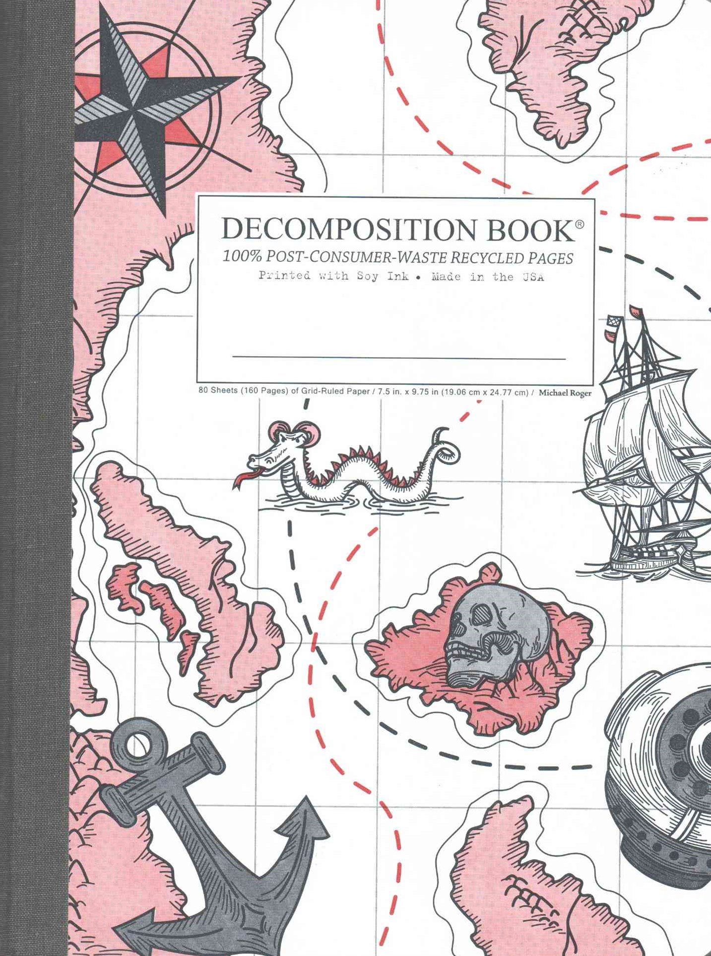 Decomposition - Notebook - Grid - Large - Treasure Coast