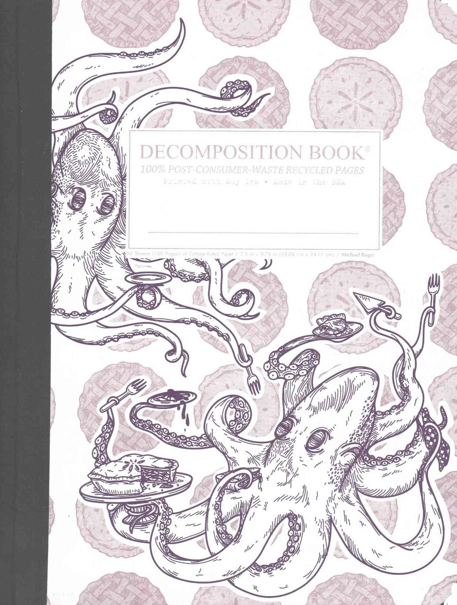 Decomposition - Notebook - Ruled - Large - Octopie