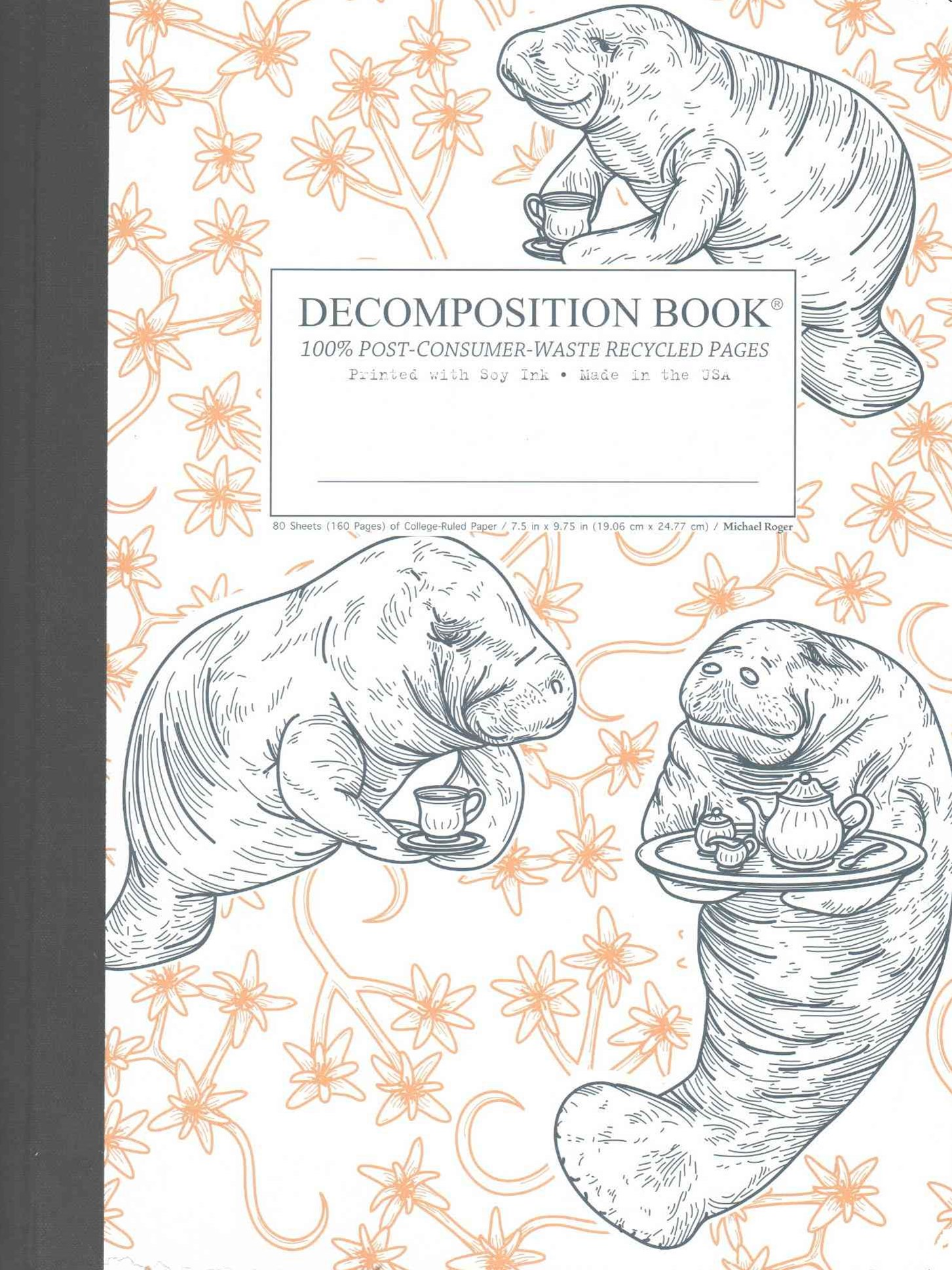 Decomposition - Notebook - Ruled - Large - Manatea