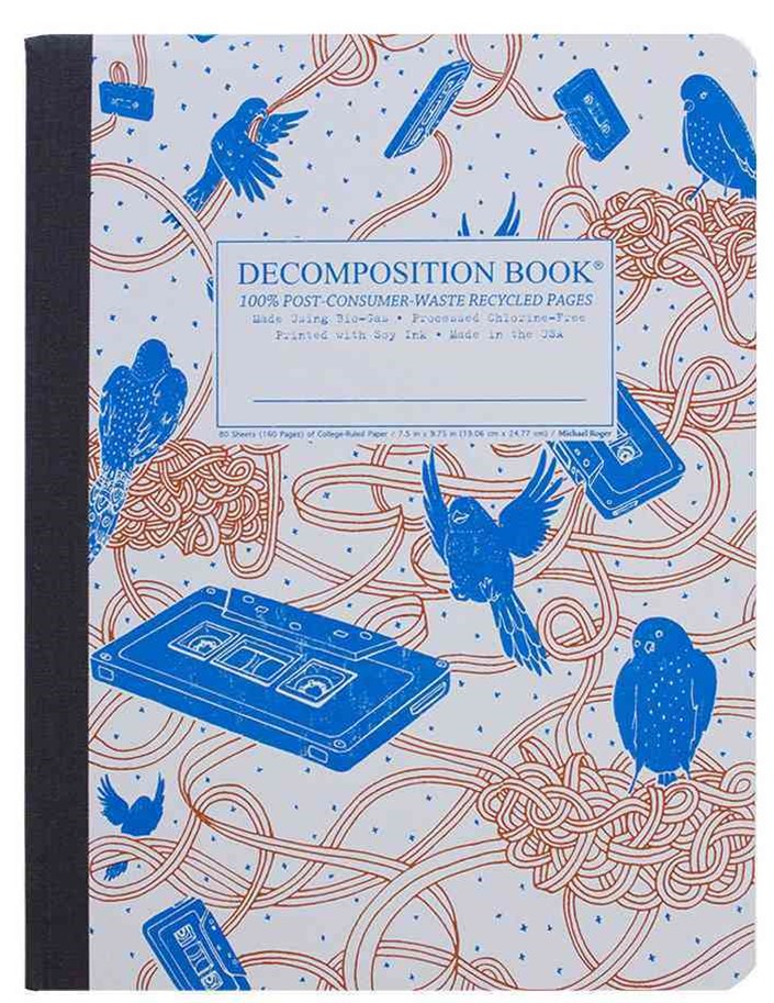Decomposition - Notebook - Ruled - Large - Bird Song