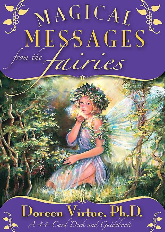 Magical Messages From The Fairies Oracle Cards: A 44-Card Deck And