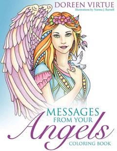 Messages From Your Angels Colouring Book